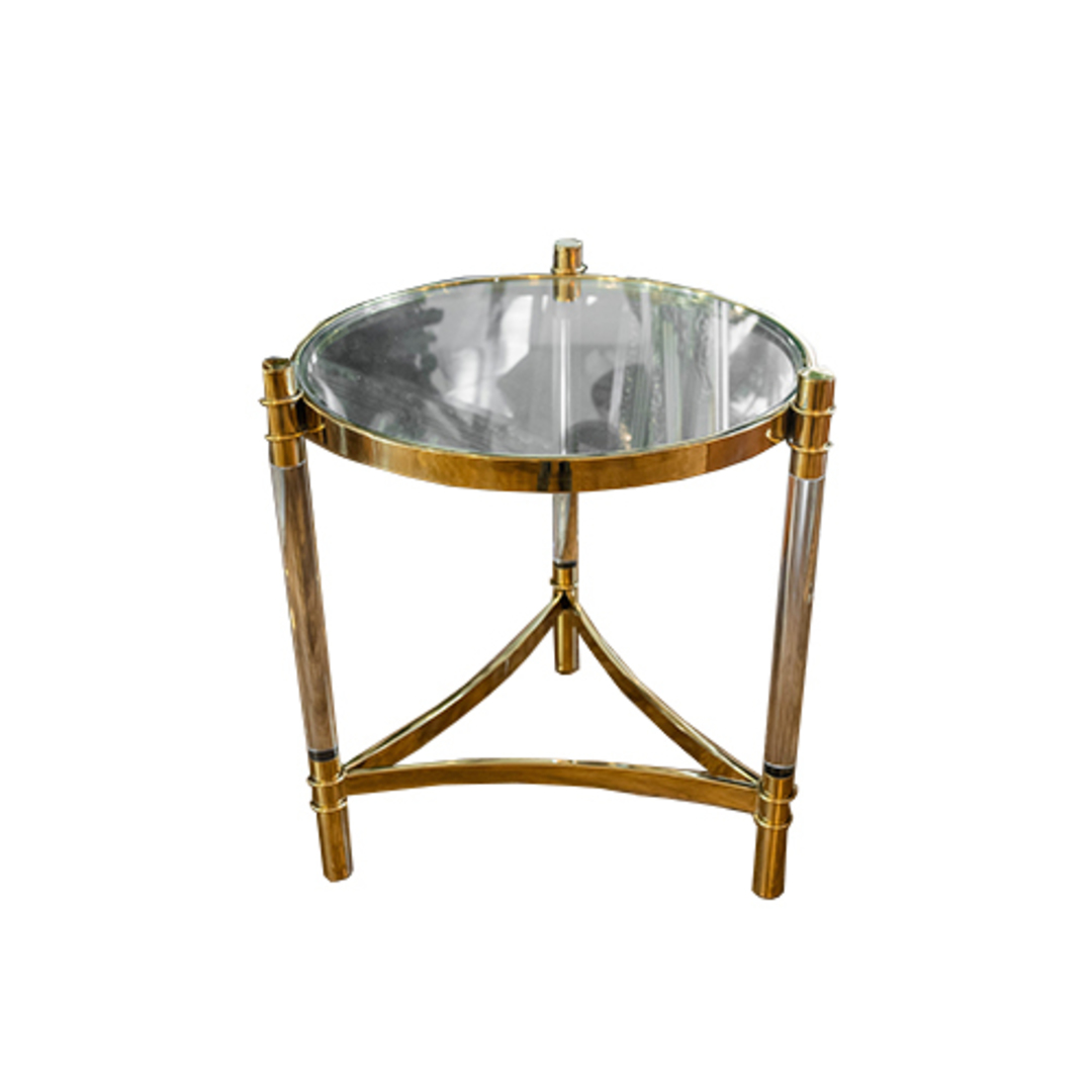 Montana Side Table Gold image 2