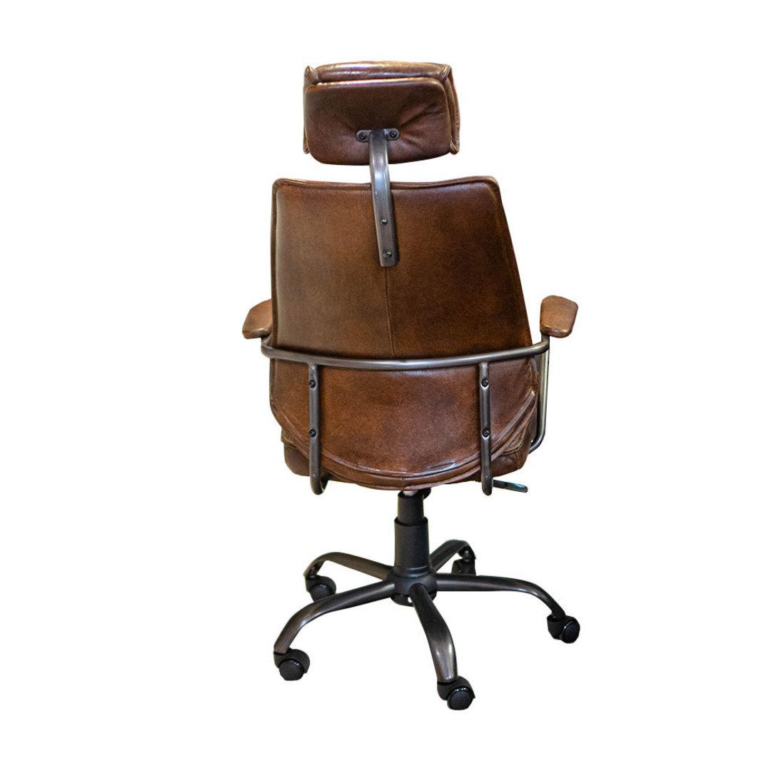 Birmingham Vintage Leather Study Chair image 2