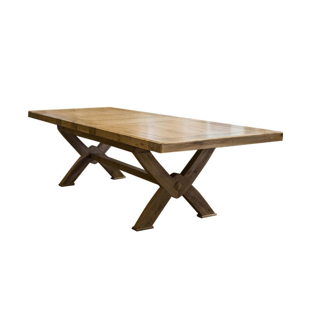 Oak Chateau Extension Table 2.1 M - 2.9M image 0