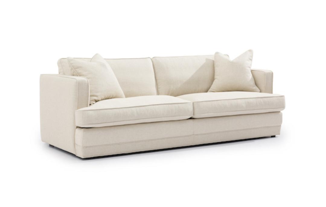 Michigan 3 Seater Fabric Sofa image 1