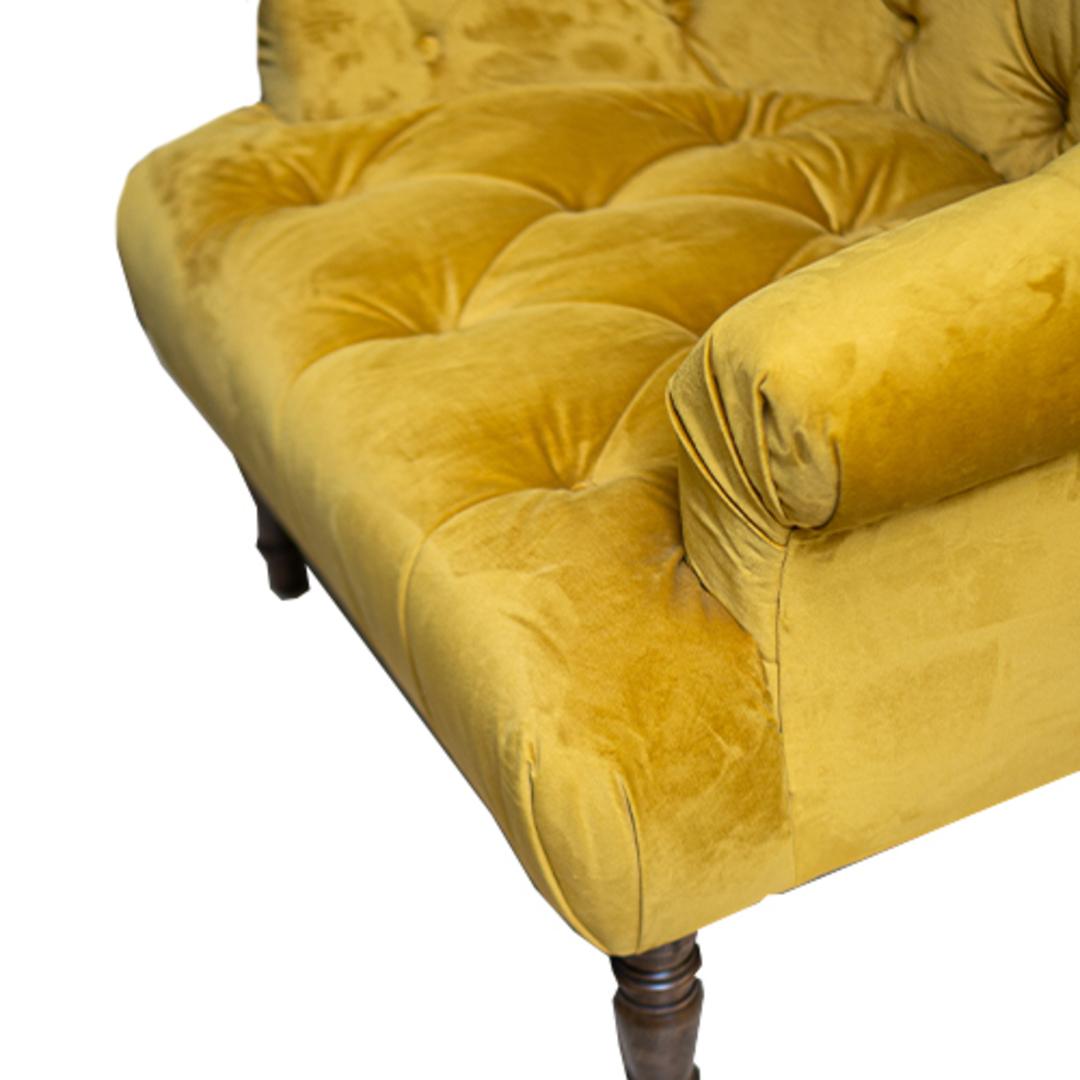 Imogen Chair Plush Turmeric image 5