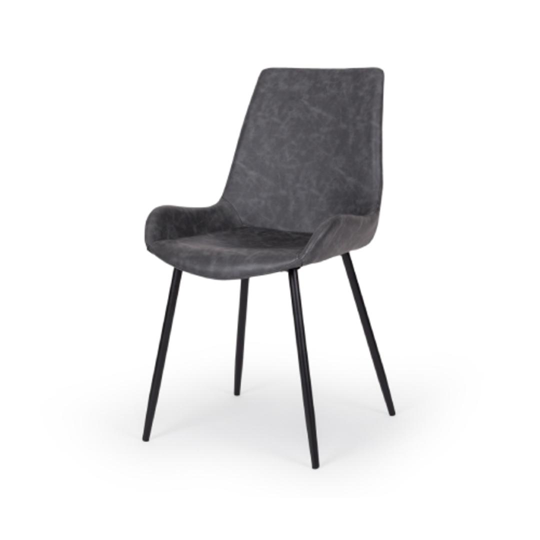 Vintage Chair Grey PU image 0
