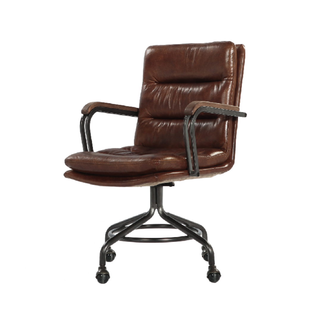 Newcastle Vintage Leather Office Chair image 0