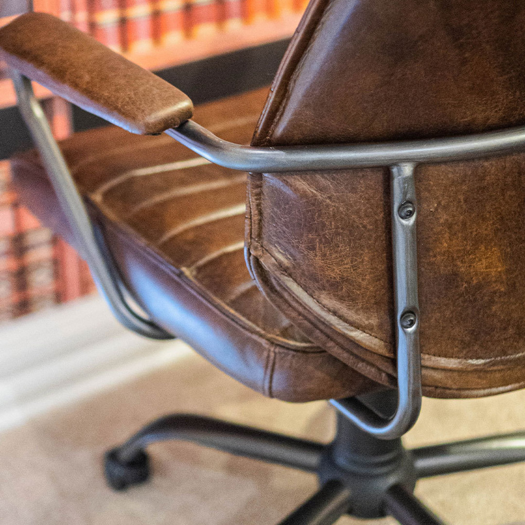 Oxford Office Chair Leather image 4