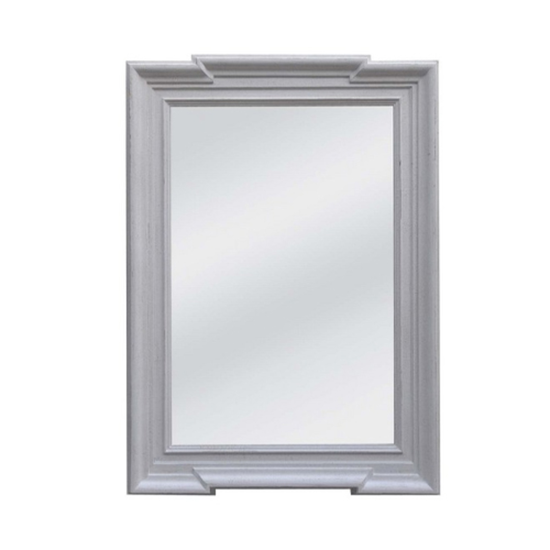 Stone Grey Frame With Flat Mirror image 0