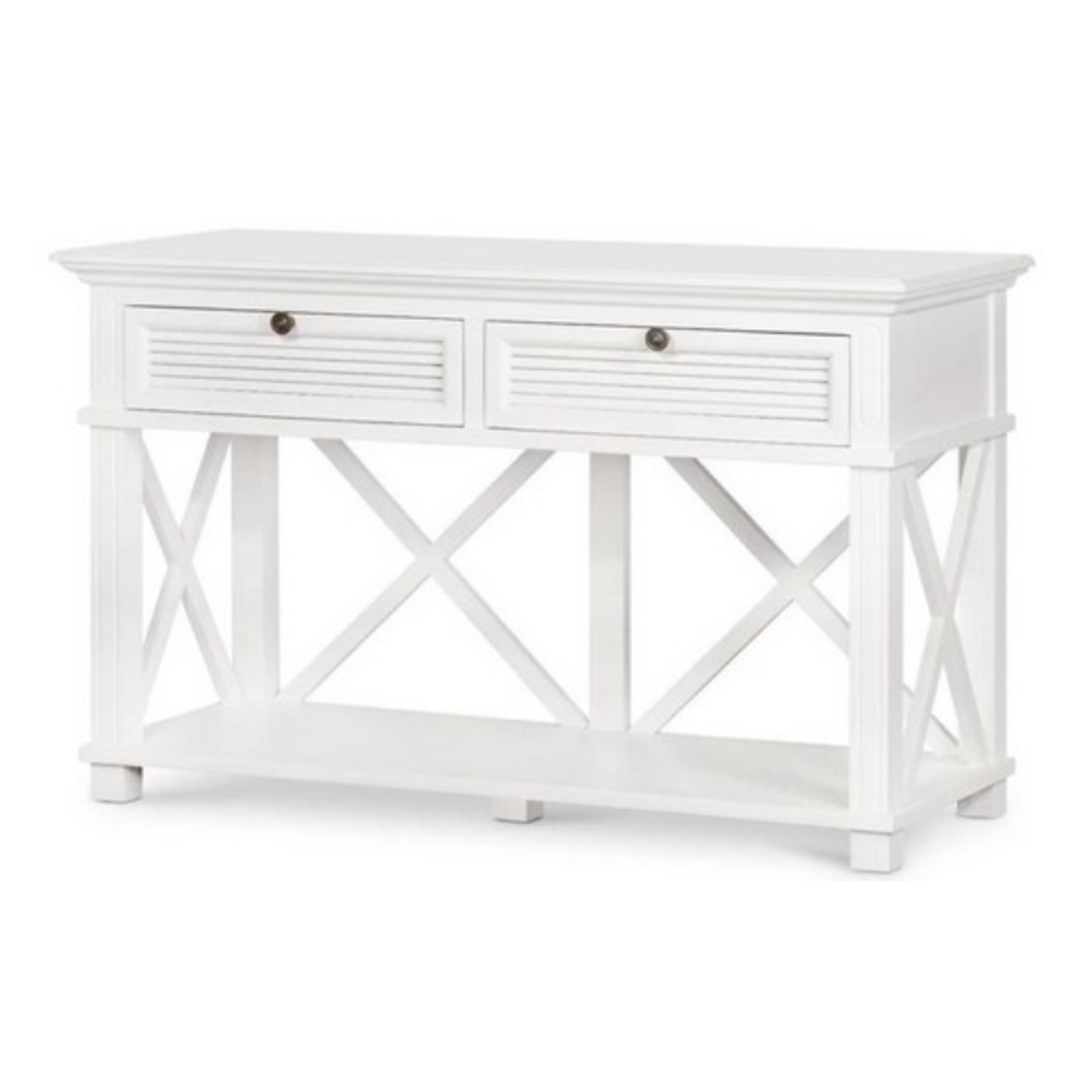 Coast 2-Drawer Hall Table White image 0