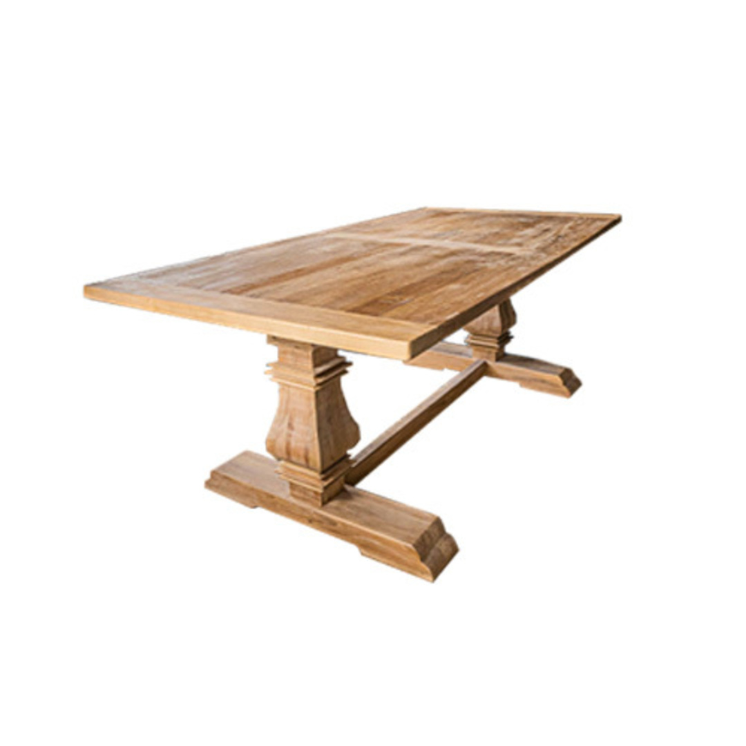 Recycled Elm Victoria Dining Table 2M image 0