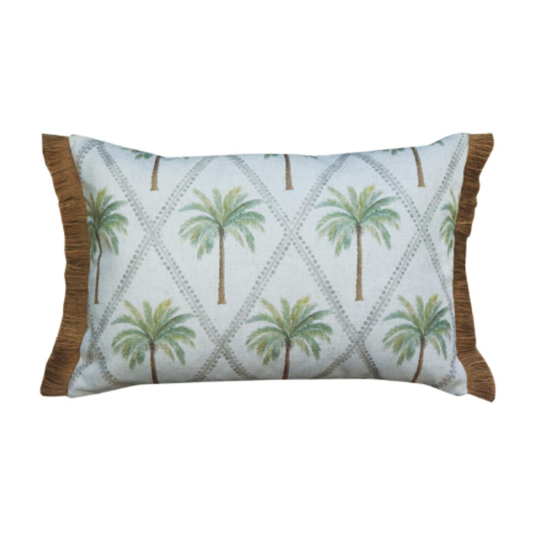 Capricorn Green Lumbar Cushion image 0