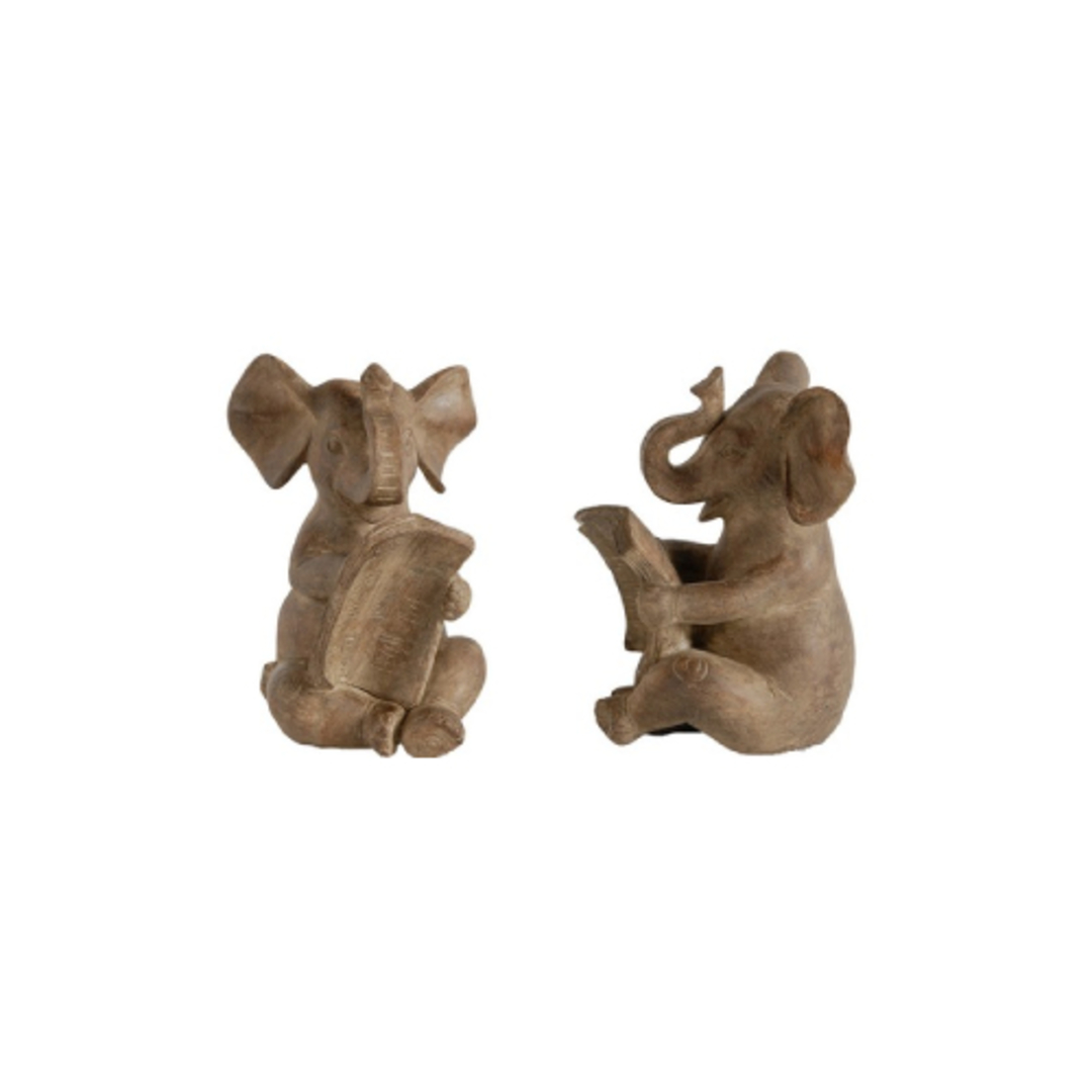 Elephant Bookends Set of 2 image 0