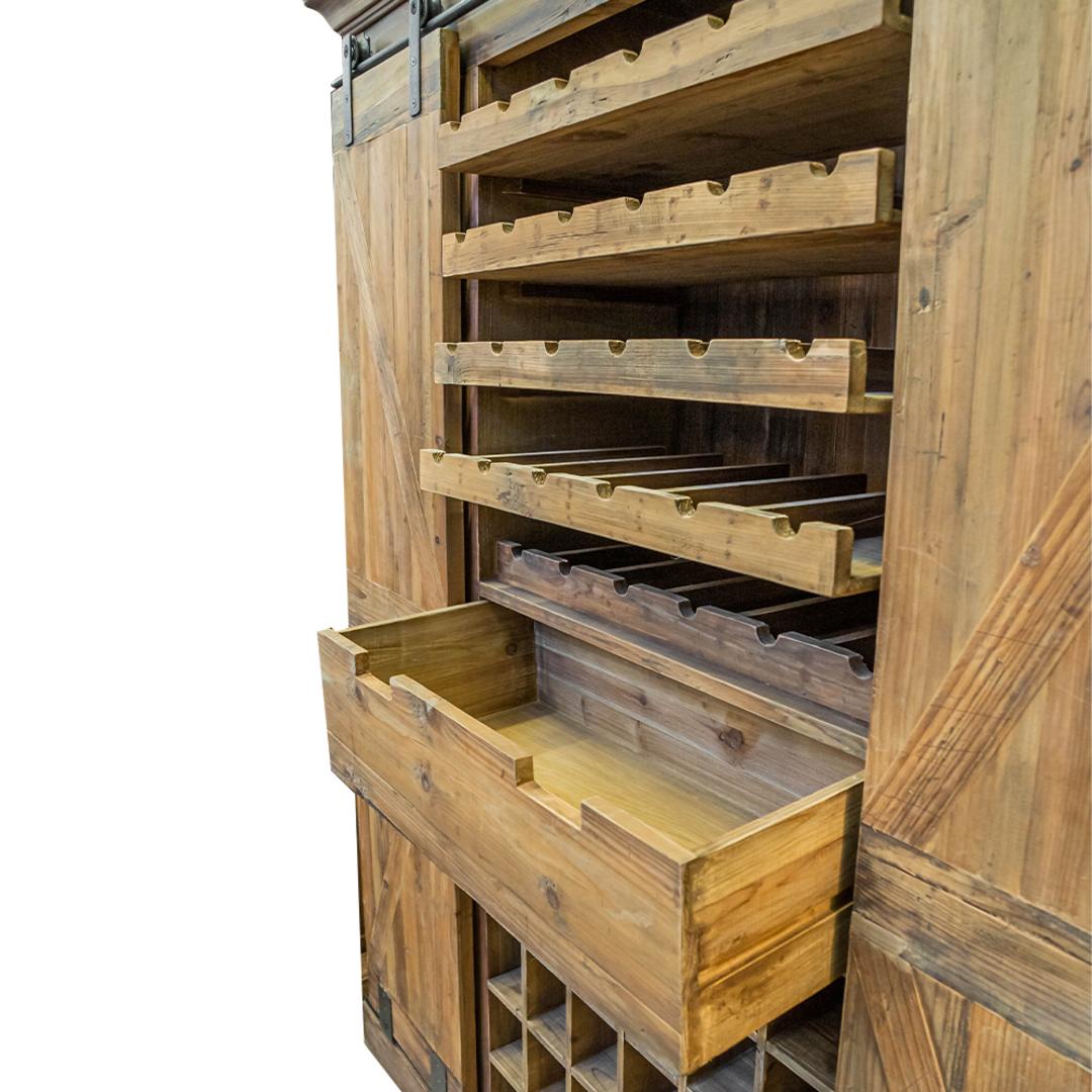 Bar & Wine Unit With Sliding Doors image 4