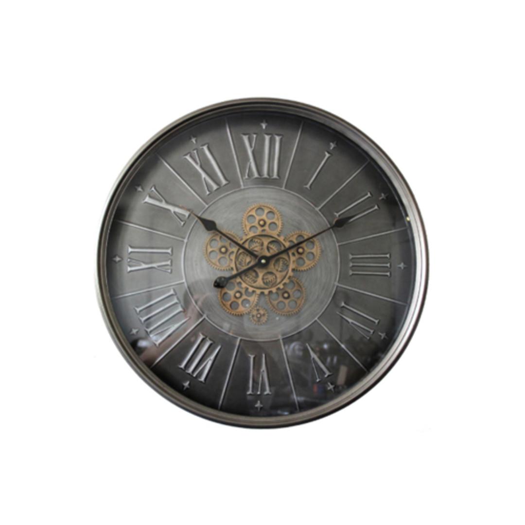 Black Gear Clock image 0