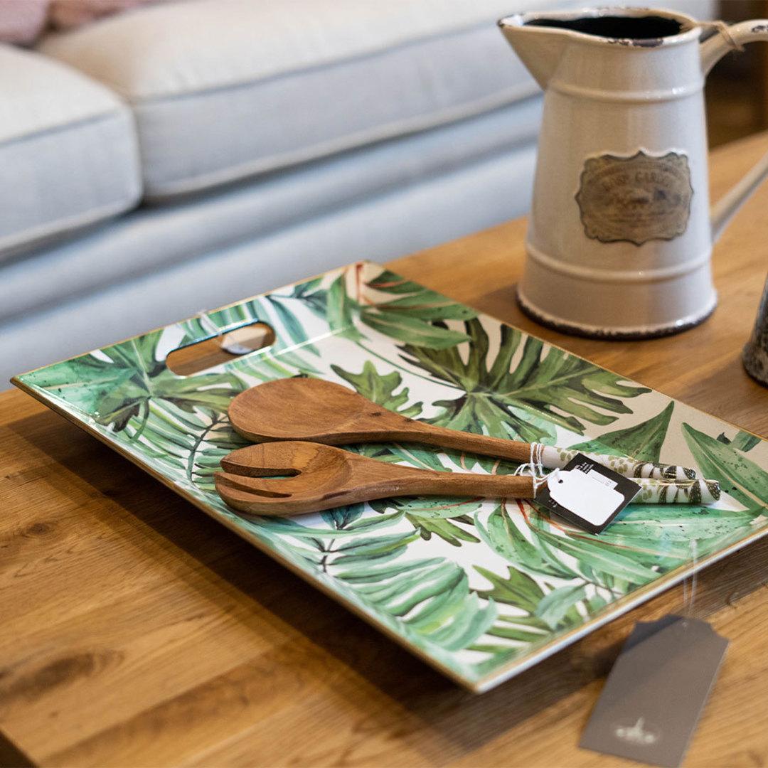 Palm Charger Plate Retangular image 1