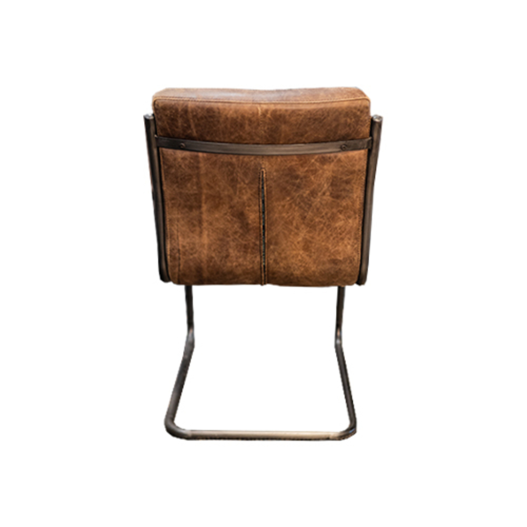 Pistoria Leather Dining Chair image 2
