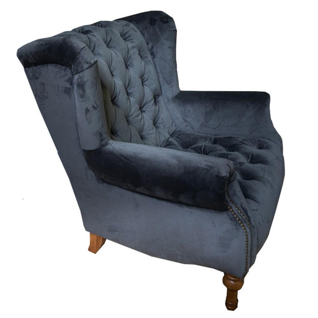Theo Chair Plush Asphalt Grey image 1