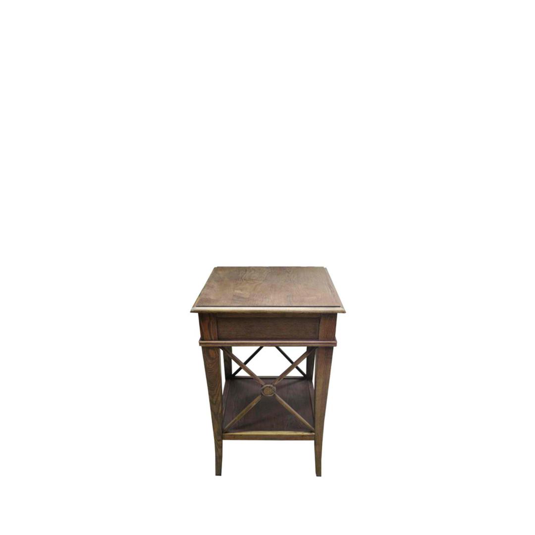 Villa Bedside Table - Washed Ash image 1