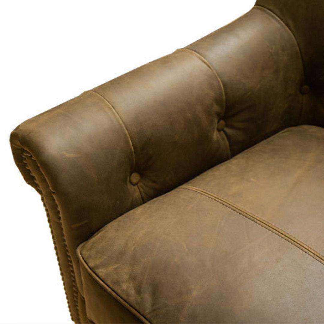 Sofia Leather Chair Jin Black image 6