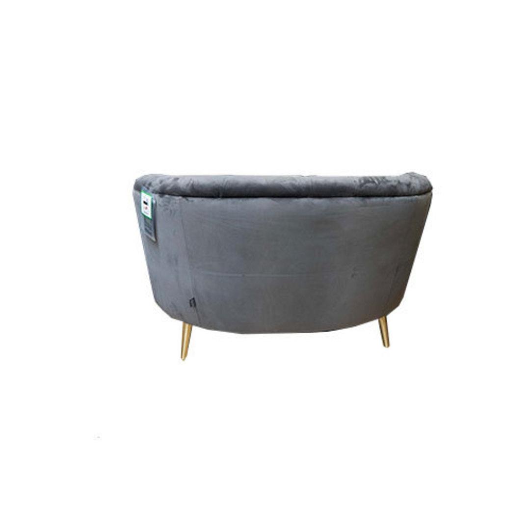 Jean Snuggler Chair Plush Slate image 4