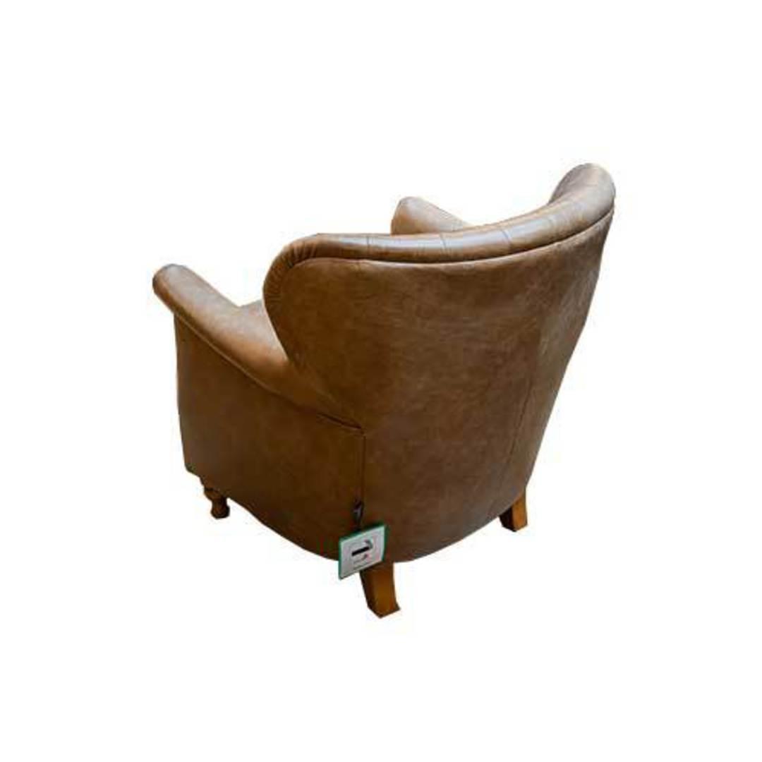 Percy Accent Chair Satchel Latte image 4