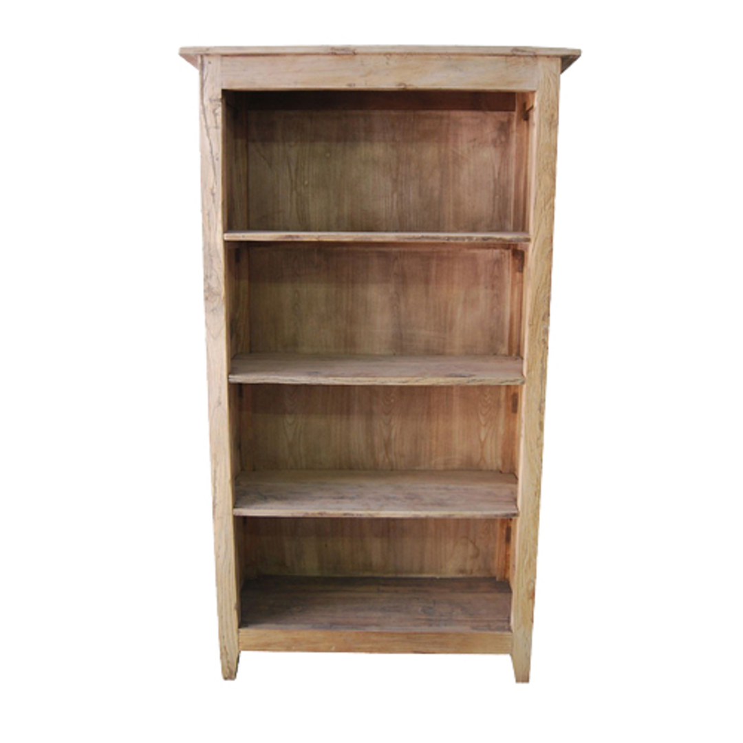 Recycled Elm French Bookcase Large image 0