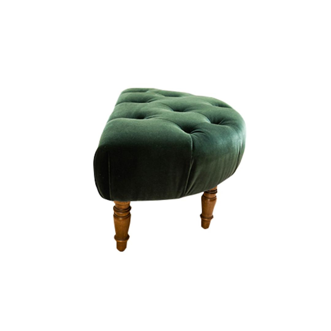 Imogen Foot Stool Emerald image 2