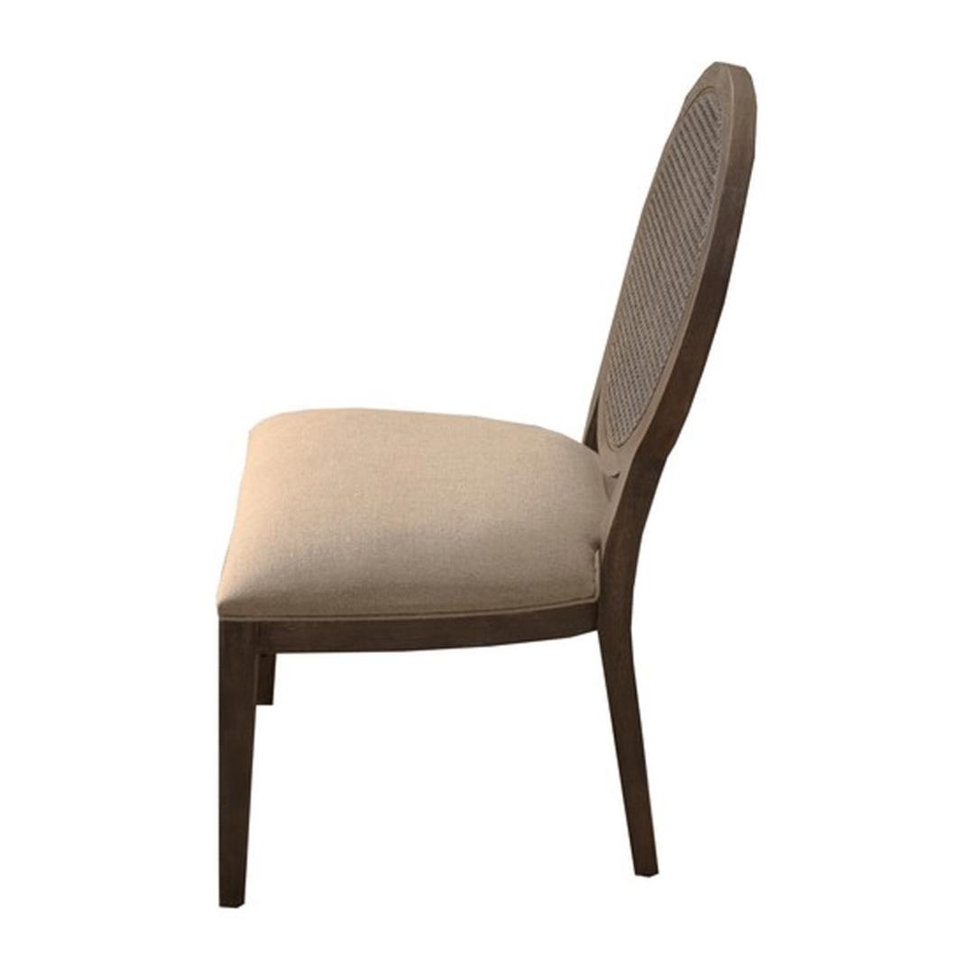 Valdez Rattan Back Dining Chair image 1