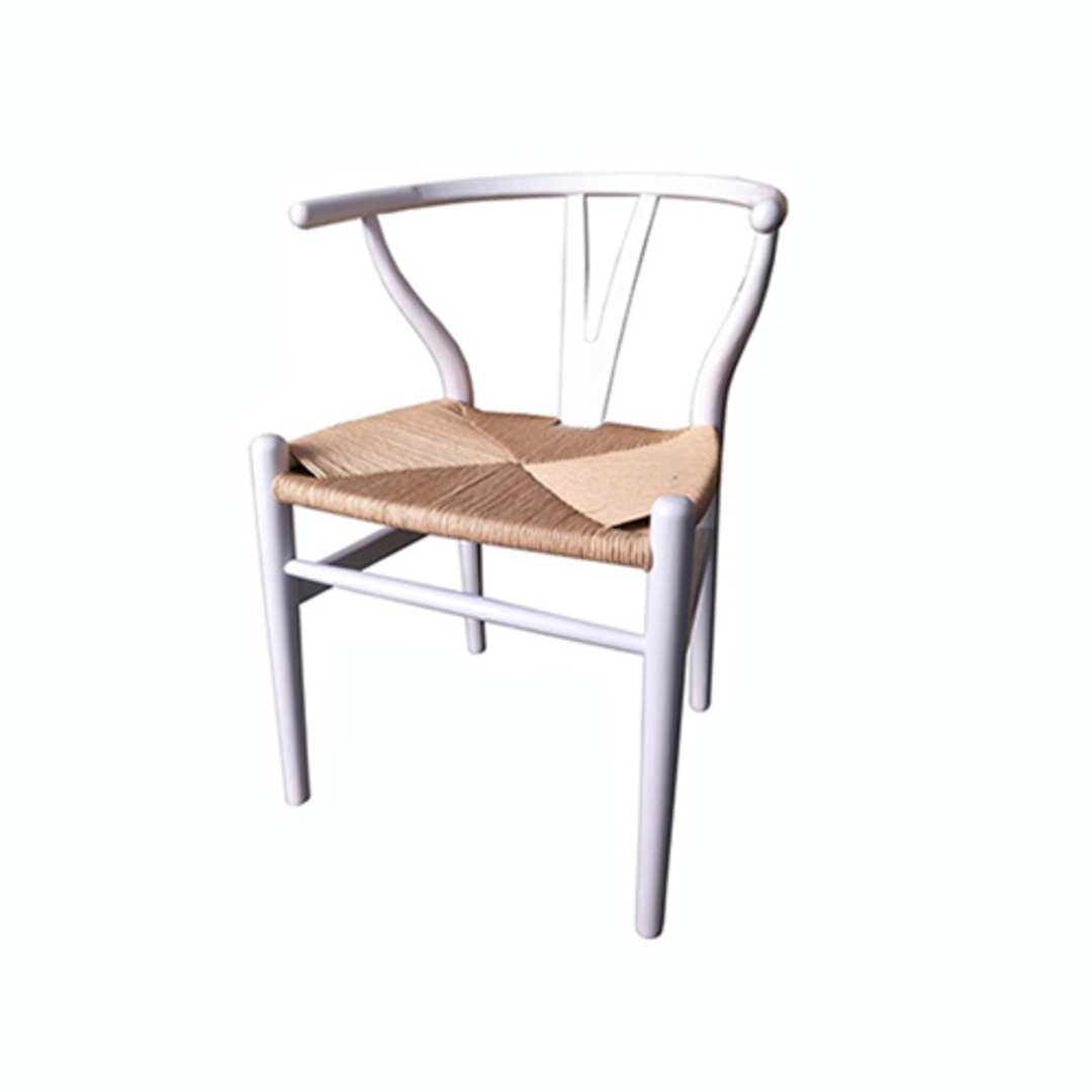 Wishbone Dining Chair - Antique White image 0