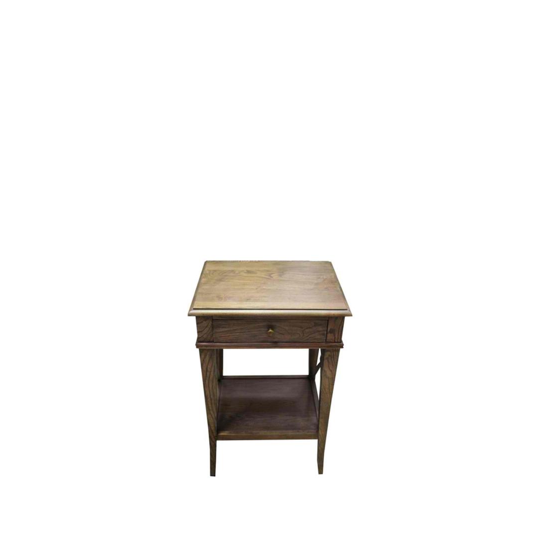 Villa Bedside Table - Washed Ash image 2