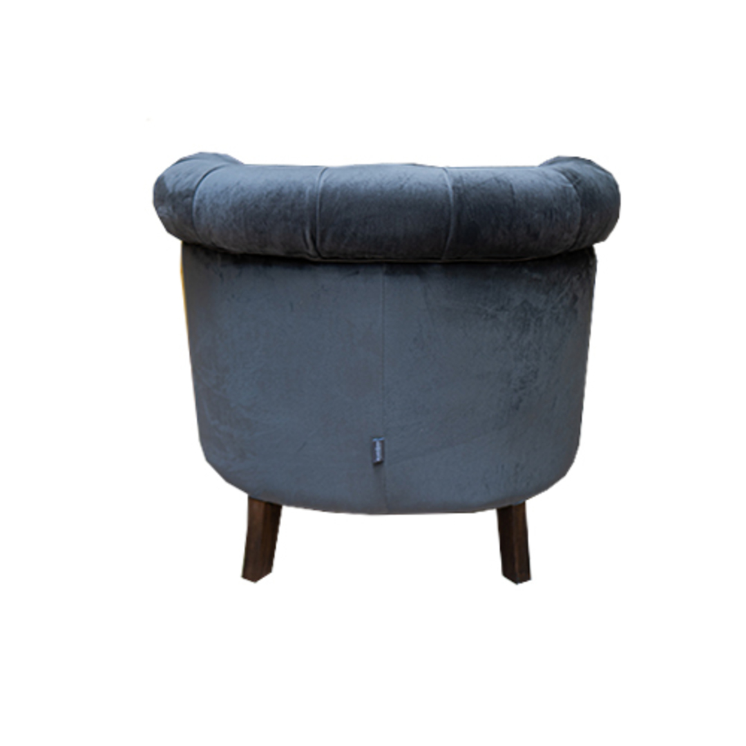 Jude Chair Plush Velvet Charcoal image 3