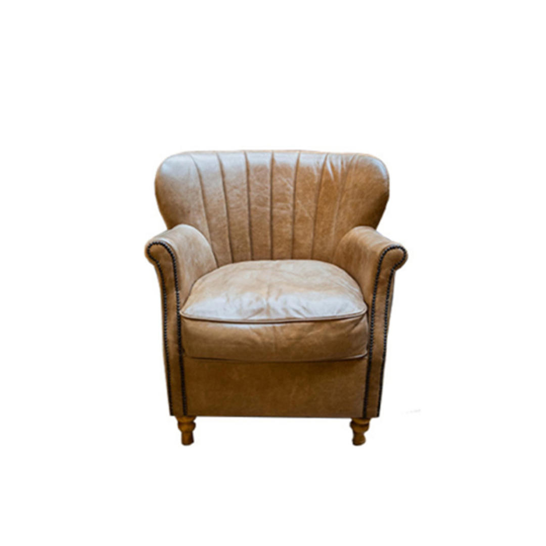 Percy Accent Chair Satchel Latte image 0