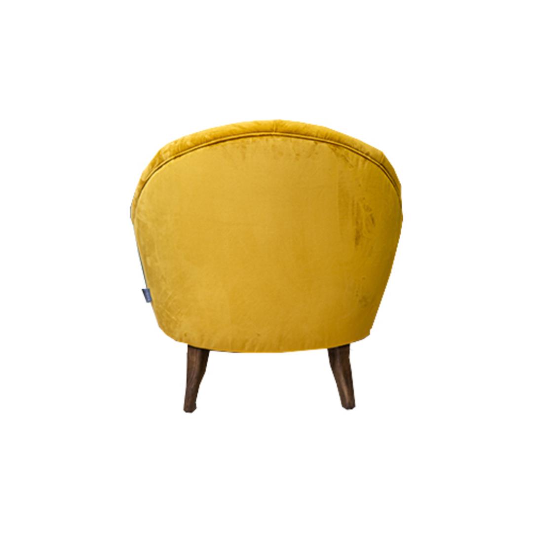 Imogen Chair Plush Turmeric image 4