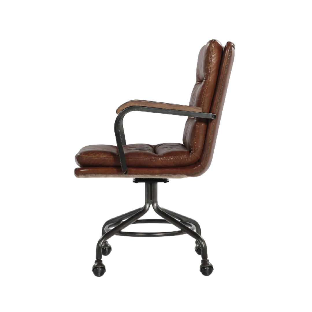 Newcastle Vintage Leather Office Chair image 1