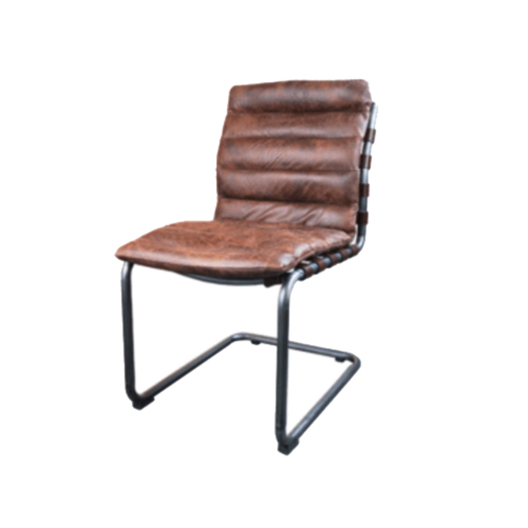 Florence Leather Dining Chair image 1