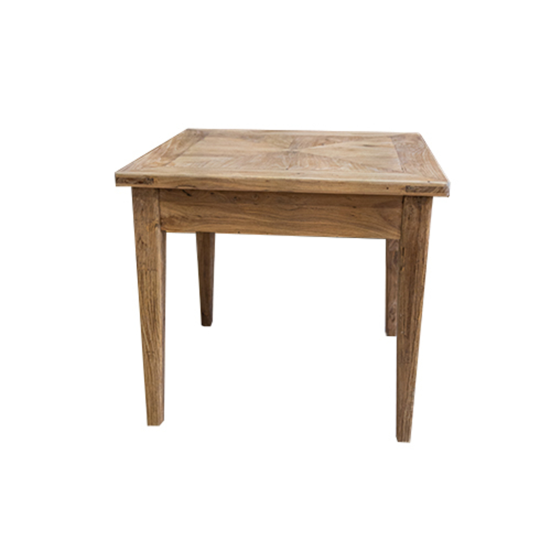 Recycled Elm 1 Drawer Side Table image 3