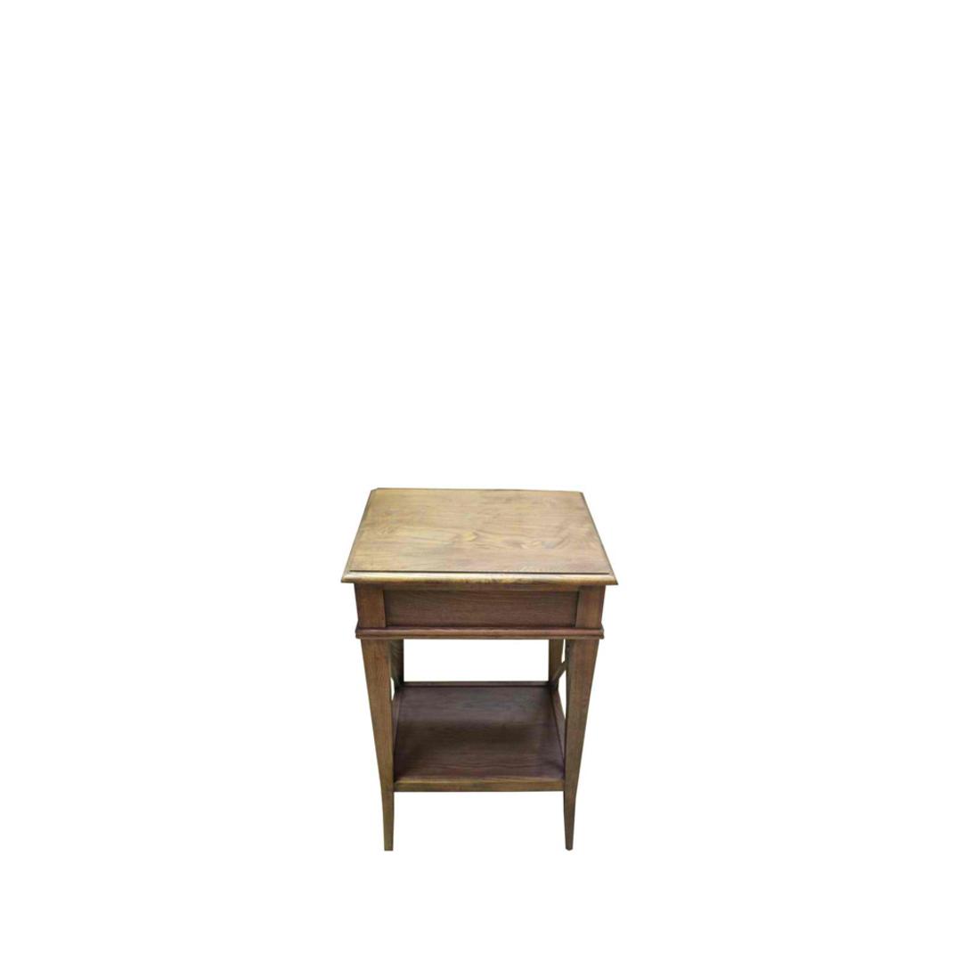 Villa Bedside Table - Washed Ash image 3