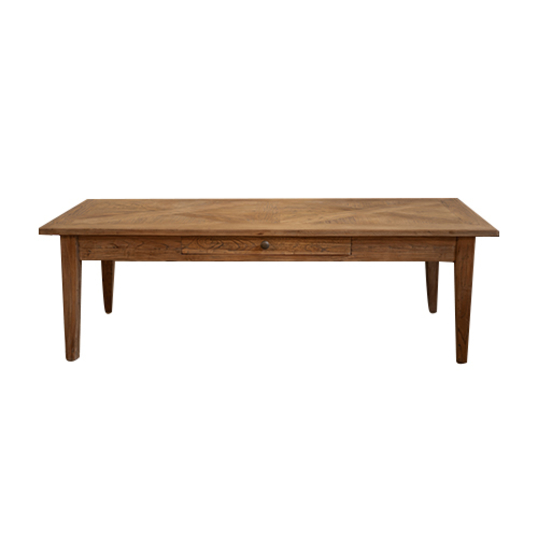 Elm Parqueterie 1 Draw Coffee Table image 1