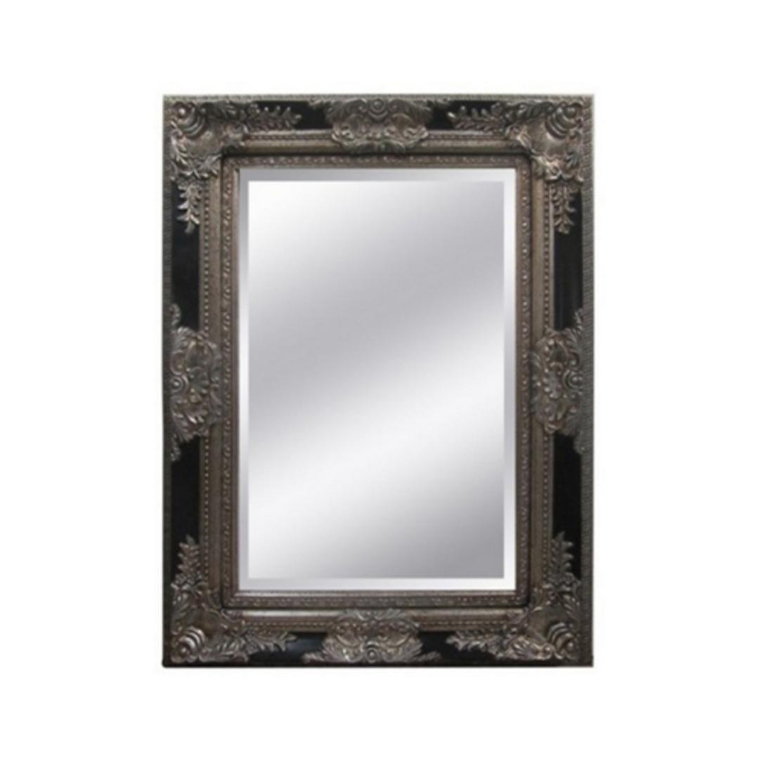 Antique Ornate Bevelled Mirror image 0