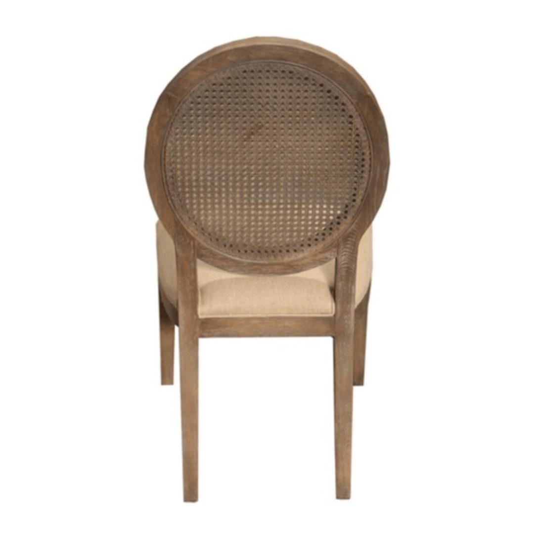 Valdez Rattan Back Dining Chair image 3