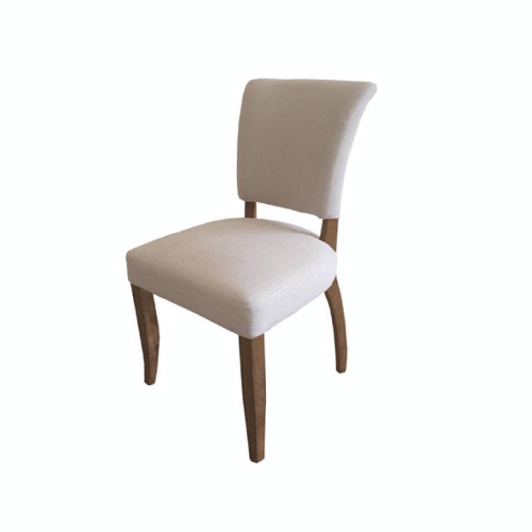 Derringer Linen Dining Chair image 0