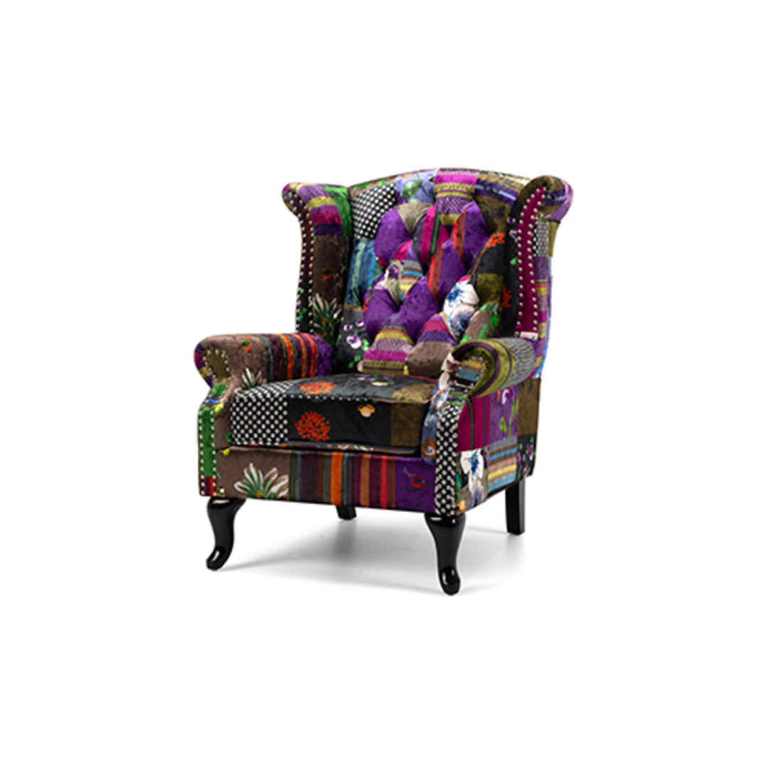 Patchwork Wingback image 0