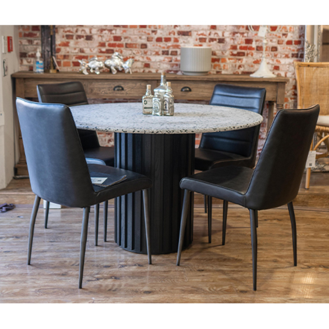 Terrazzo Rd Dining Table 120cm image 2