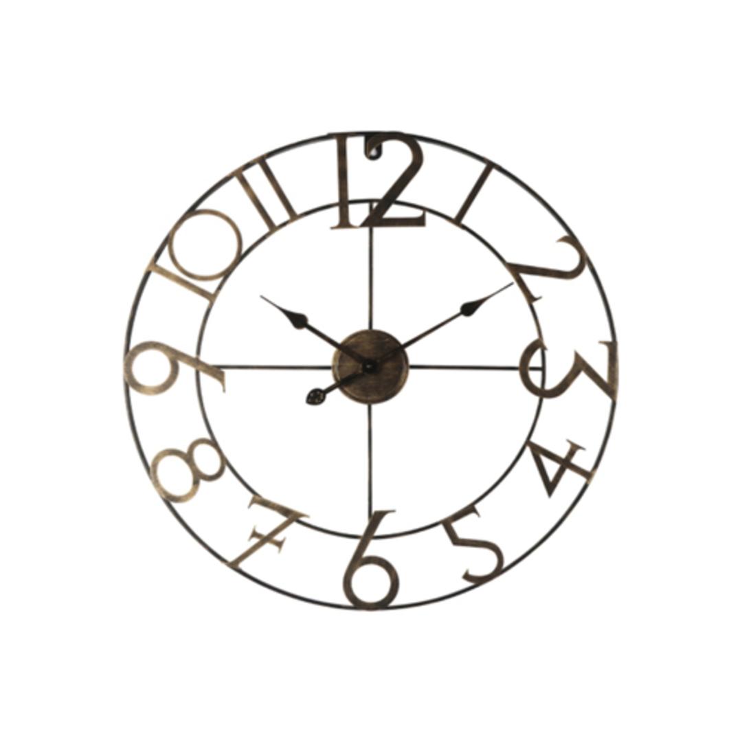 William Iron Wall Clock image 0