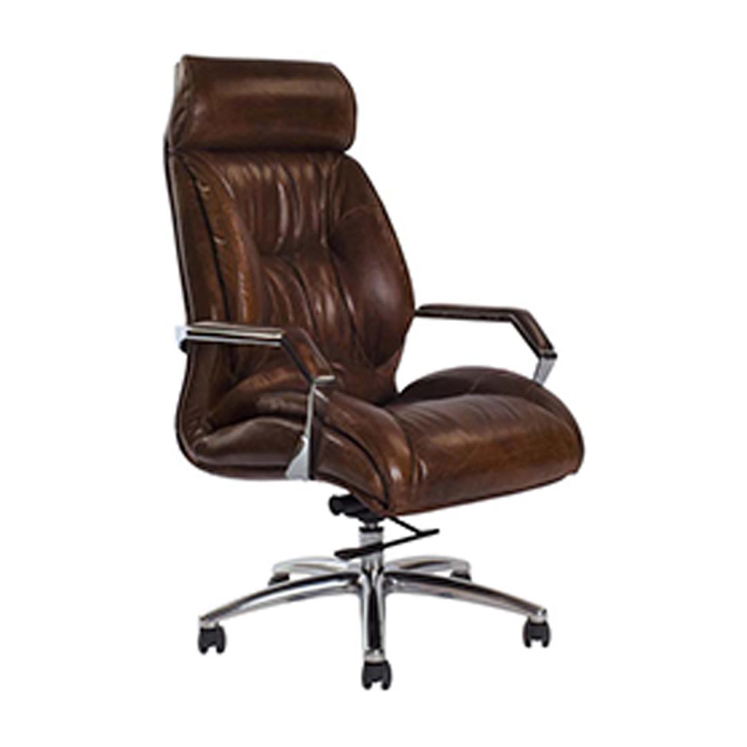 GM Adjustable Desk Chair - Vintage Cigar Brown image 0