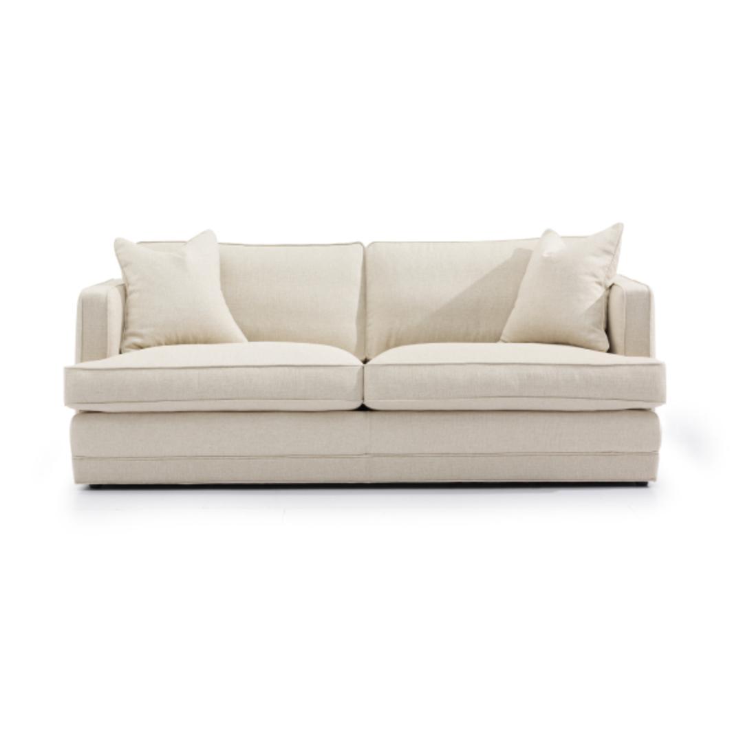 Michigan 3 Seater Fabric Sofa image 0