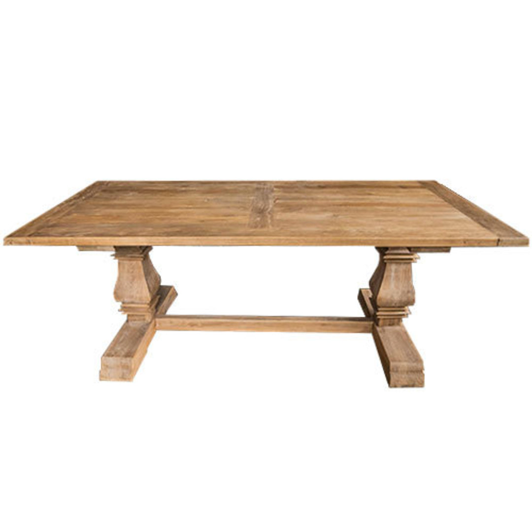 Recycled Elm Victoria Dining Table 2M image 1