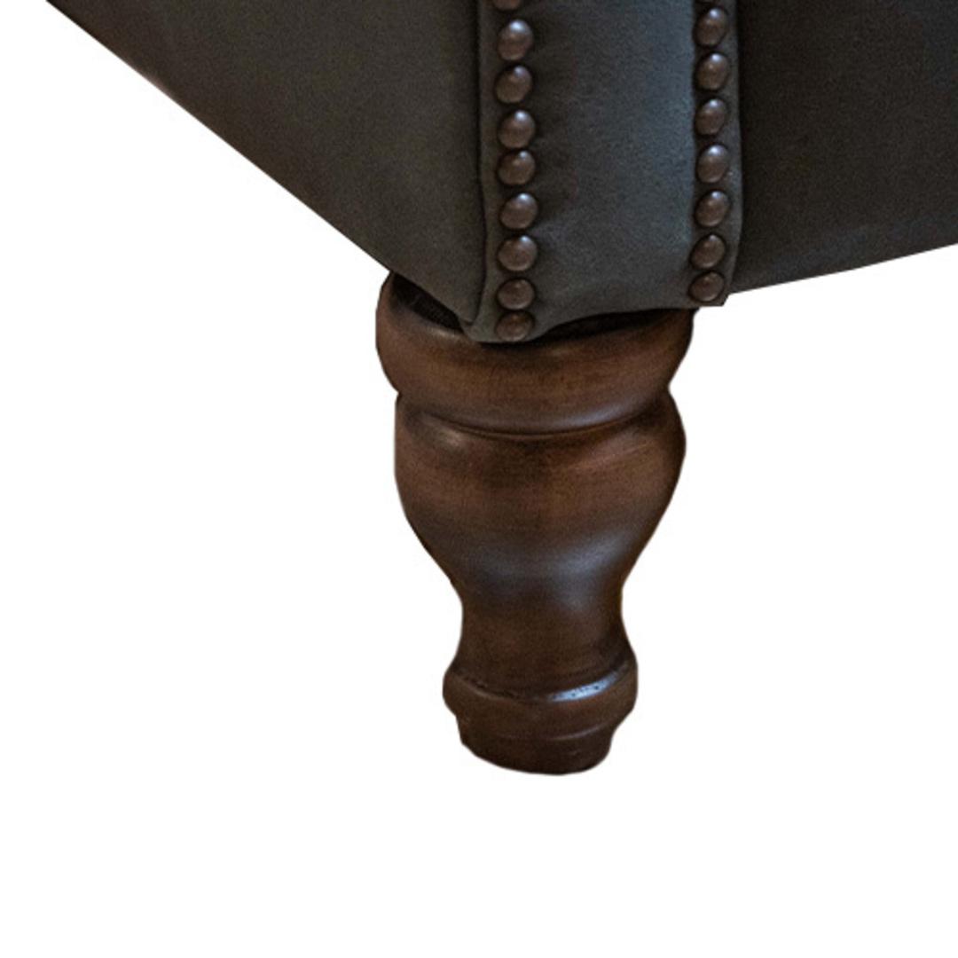 Percy Chair Plush Velvet Charcoal image 5