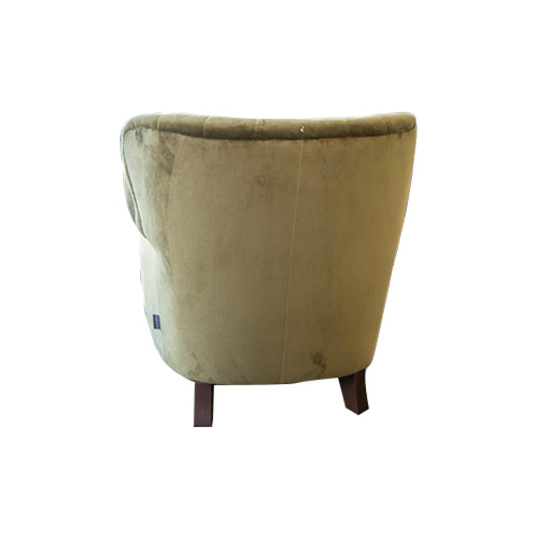 Percy Chair Plush Velvet Green image 3