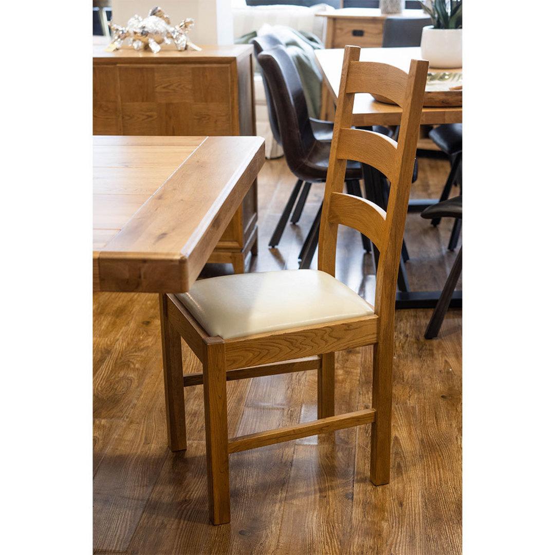 Hanko Light Oak Dining Chair image 4