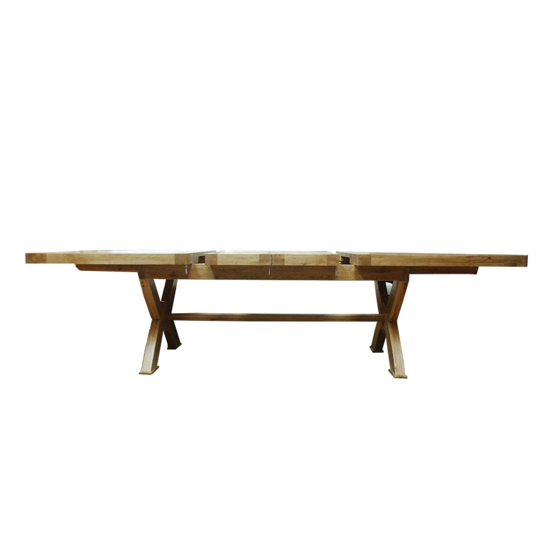 Oak Chateau Extension Table 2.9 Metre image 1