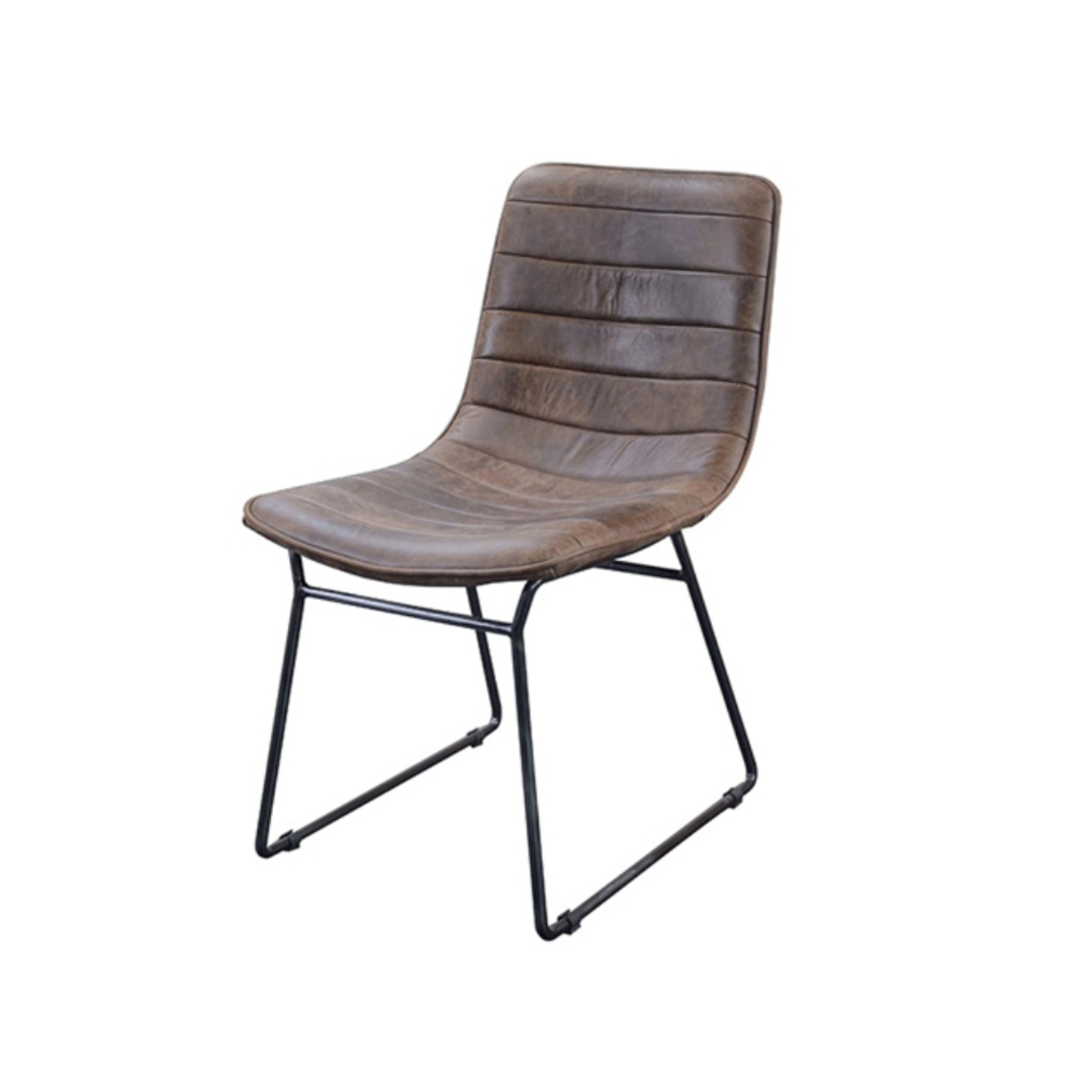Amalfi Leather Dining Chair image 0