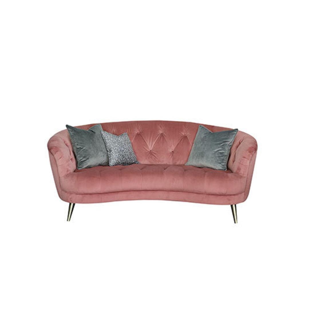 Jean Midi Sofa - Plush Rose image 0
